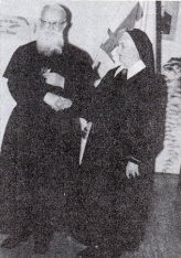 Schwester Maria Paula und der Ordensgründer Pater Josef Kentenich