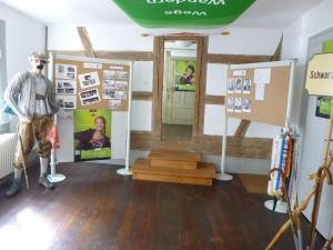 Ein Blick in die Ausstellung des Schwarzwaldvereins