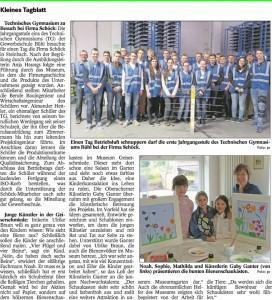 Badisches Tagblatt vom 28.04.2015