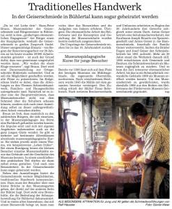 Badische Neueste Nachrichten vom 15.05.2015