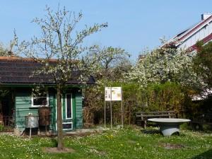 Das Bienenhaus im Museumsgarten