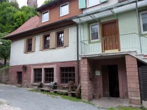 Die Wappenschmiede in Elmstein von außen