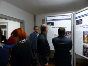 Eröffnung der Bosch-Ausstellung am 6.11.2015 Foto: Günter Meier