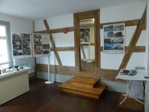 """Blick in die Ausstellung """"50 Jahre Bosch in Bühl und Bühlertal"""""""